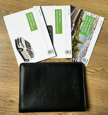 Skoda Citigo Owners Manual Handbook Pack With Wallet 2011-2016 Ref3924