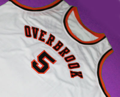 WILT CHAMBERLAIN  5 Overbrook High School Jersey White New Sewn Any ... 8be8fa7cb