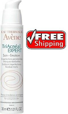 AVENE TRIACNEAL EXPERT NEW PUMP CREAM 30ml - Acne, Blemishes -Prevents Scarring