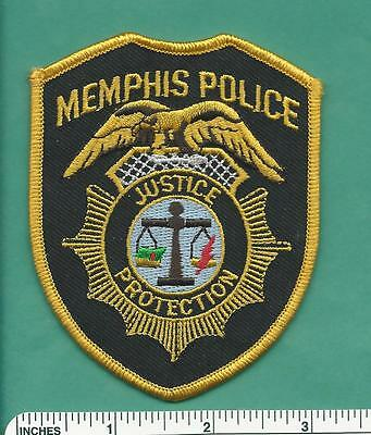 Memphis Tennessee State of TN Law Enforcement Police Patch - Shelby County