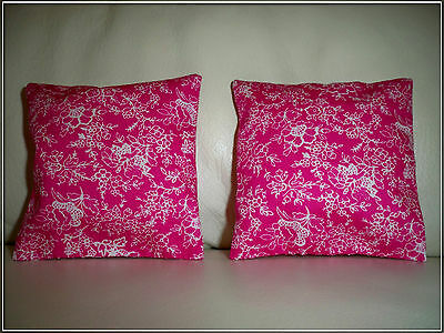 Set of 2 Cushions for Barbie, Sindy etc Doll House Furniture