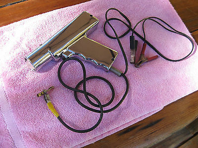 Vintage Chrome Timing Light Tested And Working 6-12 Volt.