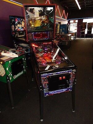 Gottlieb Freddy A Nightmare On Elm Street Pinball Machine    *** Led's ****