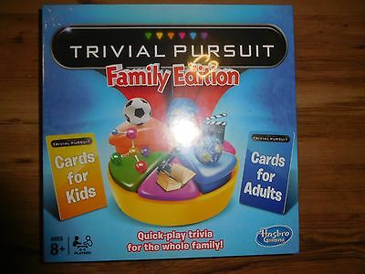 Hasbro Trivial Pursuit Family Edition Board Game Brand New