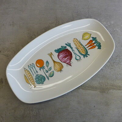 Mid Century Villeroy and Boch Large Serving Platter Luxembourg Vegetable vintage