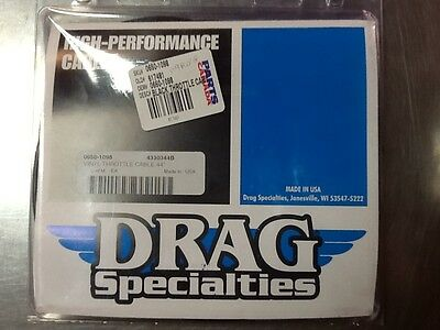 "81-85 XL 44"" Drag Specialties Throttle Cable"