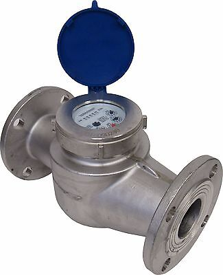 New Prm 2 Inch Flanged (150#) 304 Stainless Steel Multi-Jet Cold Water Meter Nib