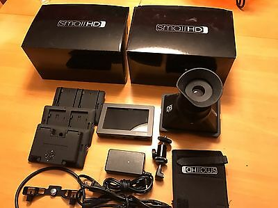 """SmallHD DP4 4.3""""  LCD Monitor with EVF and  Extras"""