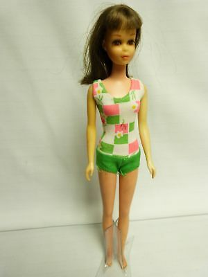 VINTAGE Pretty Francie Bendable Leg Doll with Swimsuit