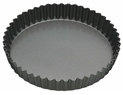 Master Class Fluted Flan Tin/Quiche Pan with Loose Base - 20 cm (8 inch)