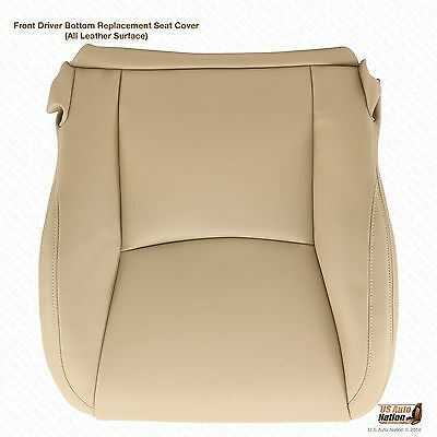 2007 2008 2009 LEXUS GX470 Driver Side Bottom Leather Seat Cover Color Light Tan