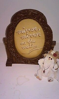Purrcila Prissybuns, Boyds Bears Picture Frame - 2000 - Purrstone Collection -