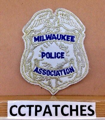 Milwaukee Police Association, Wisconsin Badge Shoulder Patch Wi
