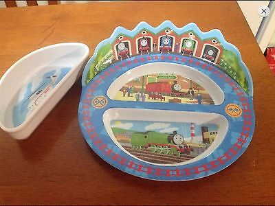 Thomas The Tank and Friends Plate and Dish