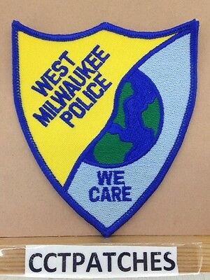 West Milwaukee, Wisconsin Police Shoulder Patch Wi