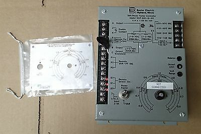 Basler Electric SCP-250-G-60 VAR / Power Factor Controller 9-1100-00-109 GRAY