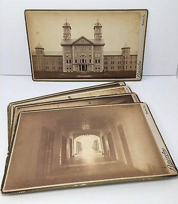 Antique 1886 Kirkbride Insane Asylum Warren PA State Hospital Photo Archive
