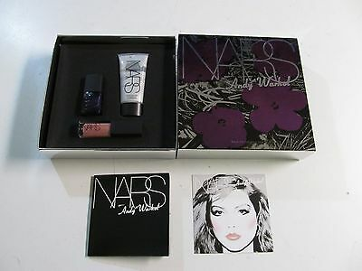Nars Andy Warhol Walk On The Wild Side Set (Illuminator, Lip Gloss, Nail Polish)