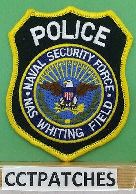 Nas Whiting Field, Flordia Naval Security Force (Police) Shoulder Patch
