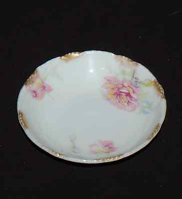 """Scalloped Theodore Haviland Limoges China 3"""" Butter Pat Schleiger 137?  EUC"""