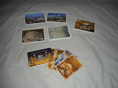 BULK LOT OF POSTCARDS AND VIEW FOLDERS FROM TURKEY AND RUSSIA a total of 6