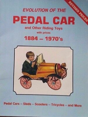 1884 - 1970 Pedal Car Riding Toy Value Guide Collector's Book