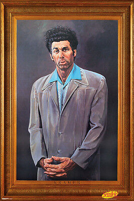 "The Kramer Painting Poster 24"" x 36"" Jerry Seinfeld New - Not Vintage"