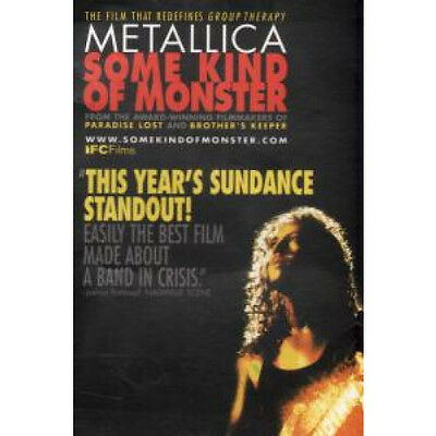 METALLICA Some Kind Of Monster CARD US 2004 Promo A6 Postcard For Film Release