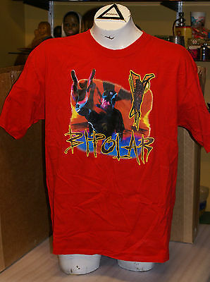 Vintage 2001 Vanilla Ice Bipolar Tour Shirt Word To Your Mutha RARE XL