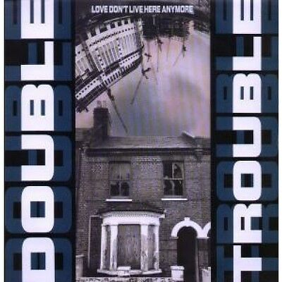 """DOUBLE TROUBLE Love Don't Live Here Anymore 12"""" VINYL UK Desire 1990 3 Track"""