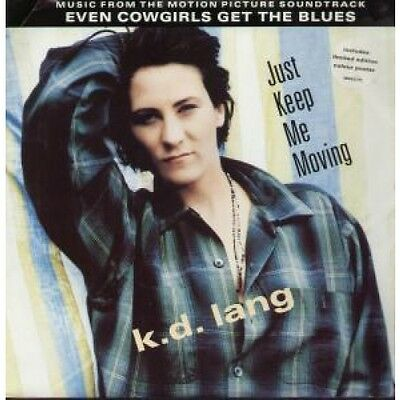 """K.D. LANG Just Keep Me Moving 12"""" VINYL UK Sire 1993 4 Track Movin Mix With"""