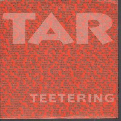 """TAR Teetering 7"""" VINYL US Touch And Go B/W In Crowd (Tg104) Pic Sleeve"""