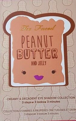 Too Faced - Peanut Butter and Jelly Eye Shadow Collection Palette *BNIB*