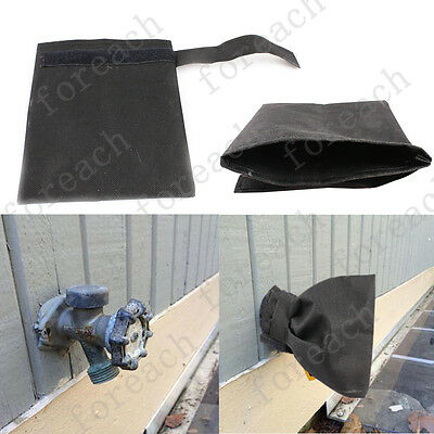 Outside Faucet Cover Water Pipe Fixture Sock For Cold Weather Freeze Protection