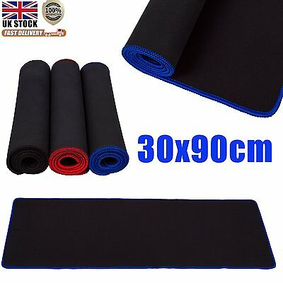 Pro 90x30cm Gaming Game Mouse Rubber Pad Mat for PC Laptop Computer Keyboard