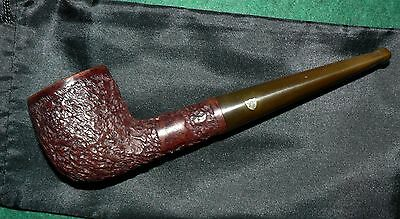 Marcee' Deluxe' Vintage 'Oval Bowl' Tobacco Pipe & Cover. Used. Solid Condion.