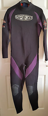 Mens Warm Sola  Full Length Wetsuit Size Large  Chest 41-43 Inches