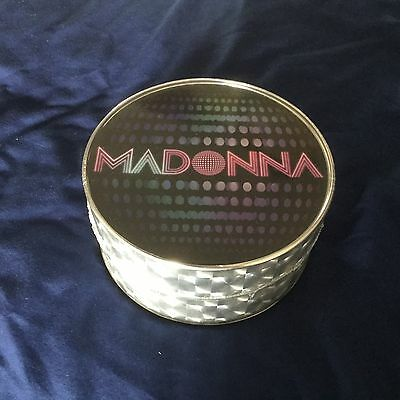 Madonna Icon Confessions Disco Ball Tin Rare T shirt Med Fan Club Deleted Sealed