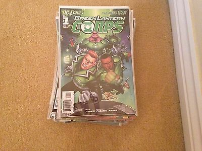 Green lantern corps new 52 1-25 and annual 1
