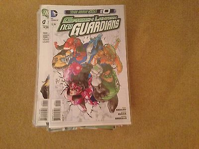 Green lantern new guardians new 52 0-40, annual 1 and 2 and futures end