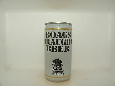 Boags Draught 13 Fl Oz Empty Beer Can