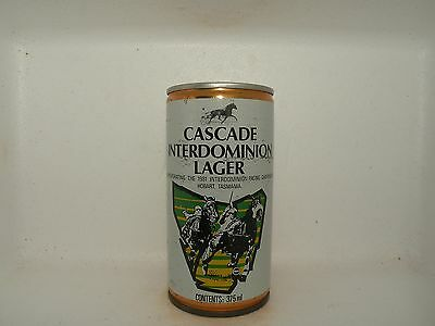 Cascade 1981 Interdominion Crimped Steel Empty Beer Can