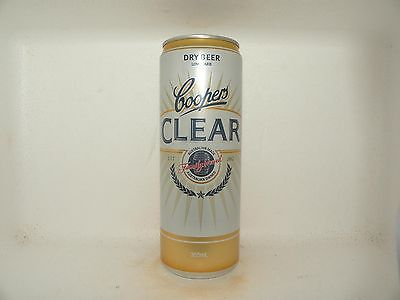 COOPERS CLEAR 355ml EMPTY BEER CAN OLD VERSION