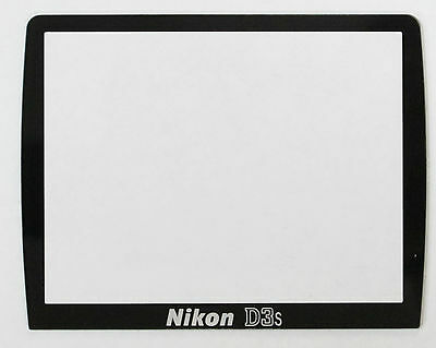 Nikon D3s LCD Display Screen External Glass Cover Replacement Part BRAND NEW