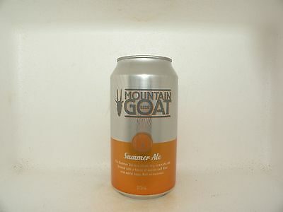 Mountain Goat Summer Ale Empty Beer Can