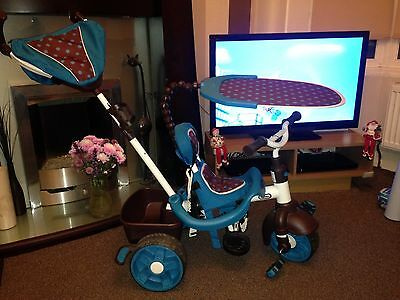 Little Tikes 4 in 1 sports edition trike Blue