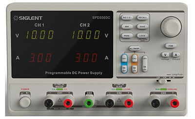 Siglent SPD3303C Programmable Bench Power Supply 3CH 195W