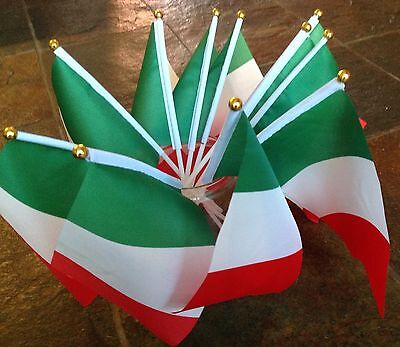 5 Italy Small Hand Waving Flag Italian Country Product Display Etc