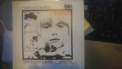U2 THREE Out of Control Red Label CBS Stories for Boys Boy/Girl