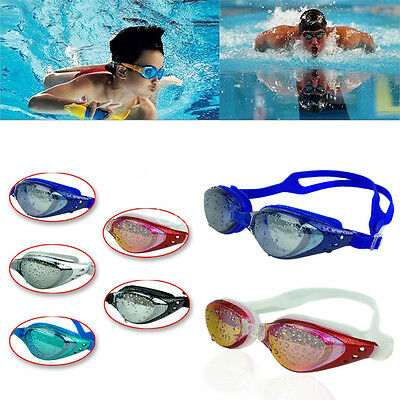 Professional Unisex Waterproof Anti-Fog UV Protect Swim Glasses Swimming Goggles